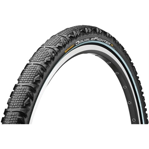 Continental Double Fighter II Wire Tyre
