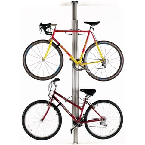 GearUp BUA Aluminium Floor-to-Ceiling 2 - 4 Bike Rack