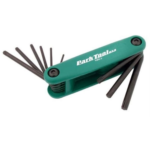 Park Tool Fold-up Torx Wrench Set