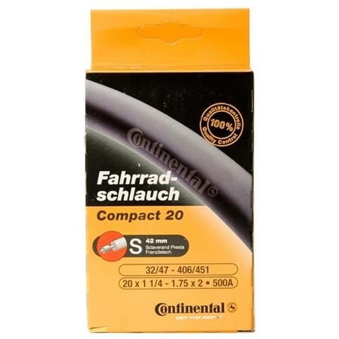 Continental Recumbent 20 Inner Tube