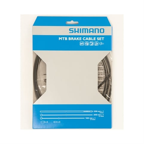 Shimano MTB XTR Brake Cable Set with Stainless Steel Inner Wire