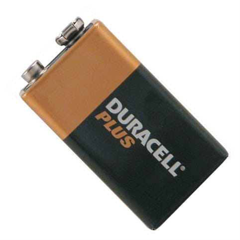 Duracell PLUS 1x 9v Battery (MN1604 / R22)