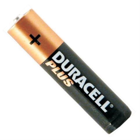 Duracell PLUS 4 x AAA Batteries (MN2400 / R03)