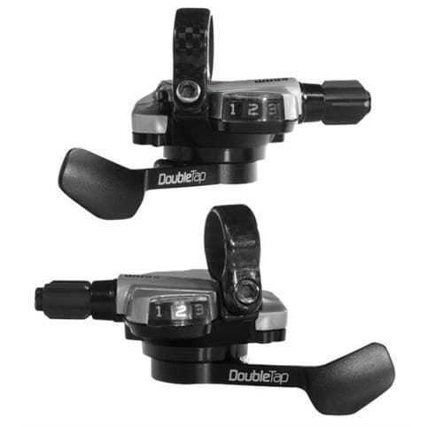 SRAM Double Tap Flat Bar Shifters (9 & 3spd) (fits X0/X9/X7/X5)