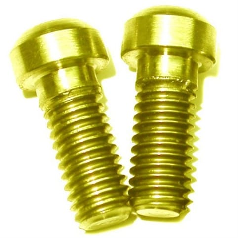 A2Z Ti Shimano Lever Clamp Bolts - M6 x 14.5mm