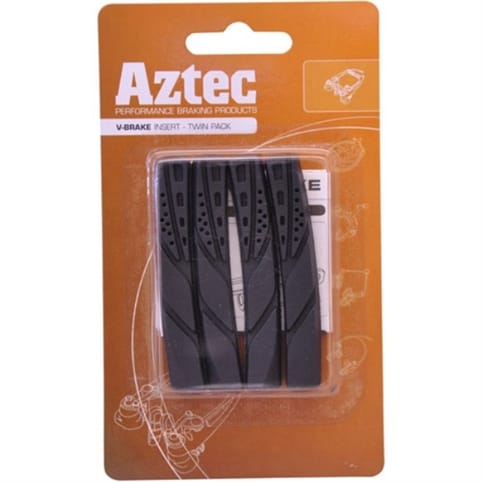 Aztec V-Type Insert Brake Blocks (Pack of 2 Pairs)