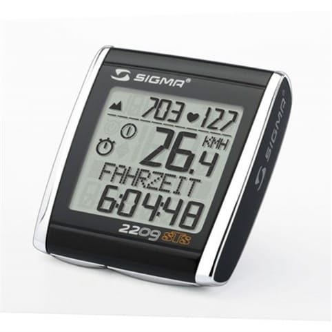 Sigma Sport BC2209 MHR Cycle Computer & Heart Rate Monitor
