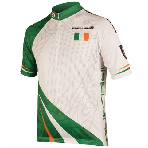 Endura Ireland Flag Coolmax Short Sleeve Jersey