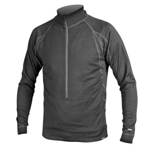 Endura Baa Baa Merino Long Sleeve Zip Neck Base Layer