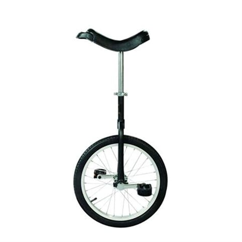"QU-AX Only One 18"" Unicycle"