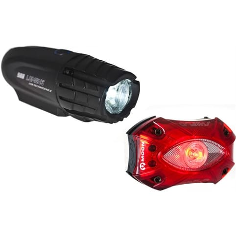 Moon XP 300 Front and Shield Rear Light