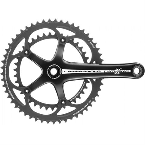 Campagnolo Athena Black Power-Torque Chainset