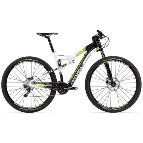 Cannondale 2013 Scalpel 29er Carbon 2 Full Suspension MTB Bike