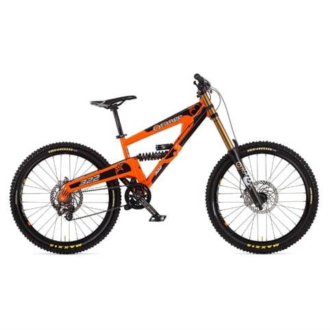 Orange 2013 322 Full Suspension MTB Bike