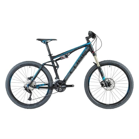Cube 2013 AMS 130 Pro Full Suspension MTB Bike