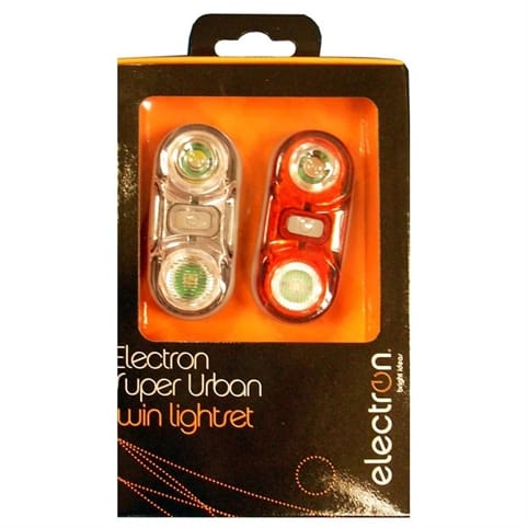 Electron Super Urban Safety Light Twinpack