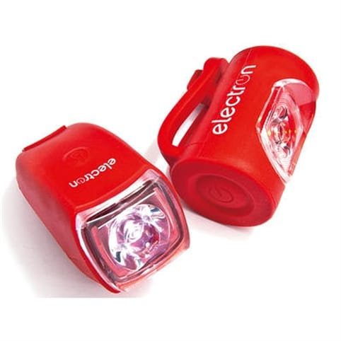 Electron Milli Front & Rear Lights Twin Pack