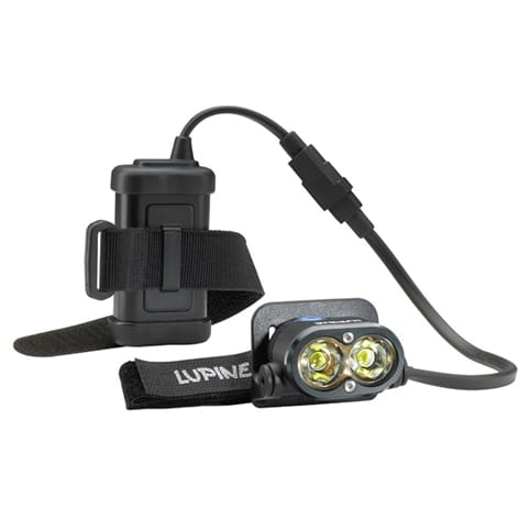 Lupine Piko 3 Head Light with Bar and Helmet Mount