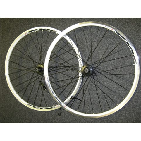 "Mach 1 White 26"" Wheelset"