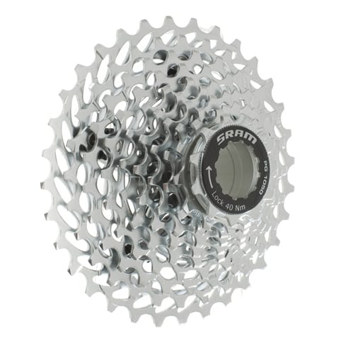 SRAM PG1050 10-SPEED ROAD CASSETTE