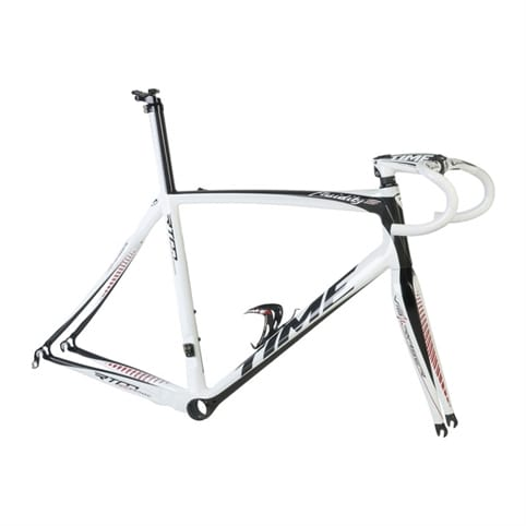 Time 2013 Fluidity S Frameset (Classic White/Black)