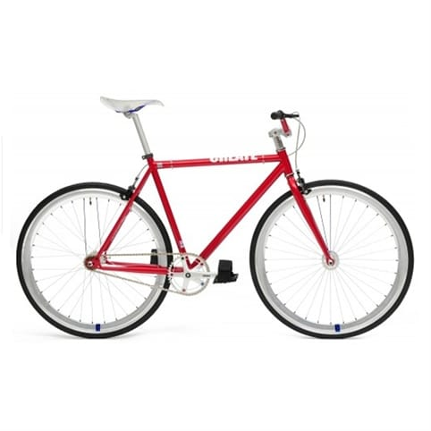 Create 2013 Red/Silver Fixed Gear & Single Speed Bike