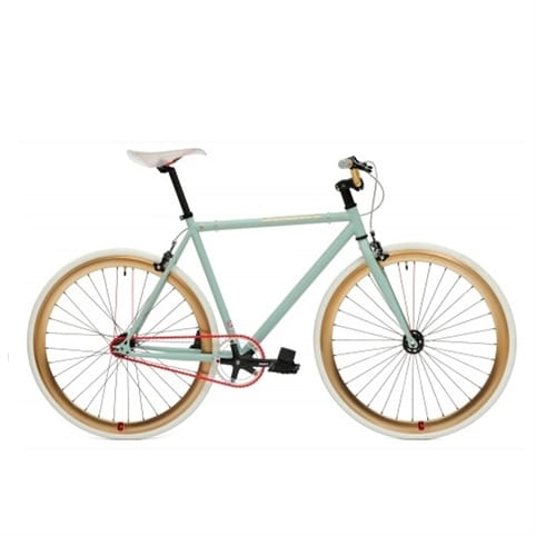 Create 2013 Green/Gold Fixed Gear & Single Speed Bike