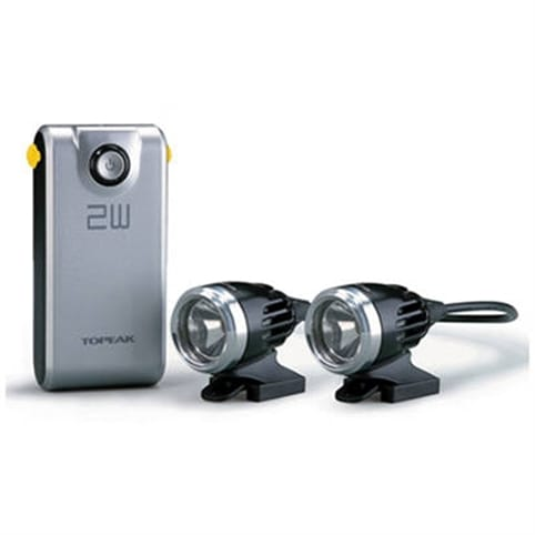 Topeak Whitelite HP 2W Dual Rechargeable Front Light