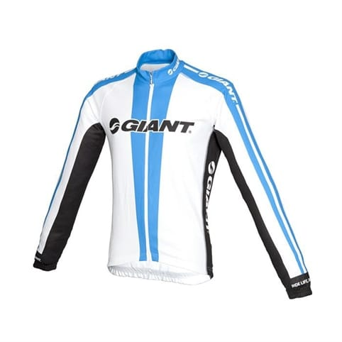 Giant Team Replica Long Sleeve Cycling Jersey