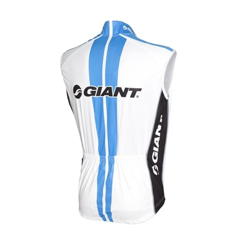 Giant Team Replica Sleeveless Cycling Gilet