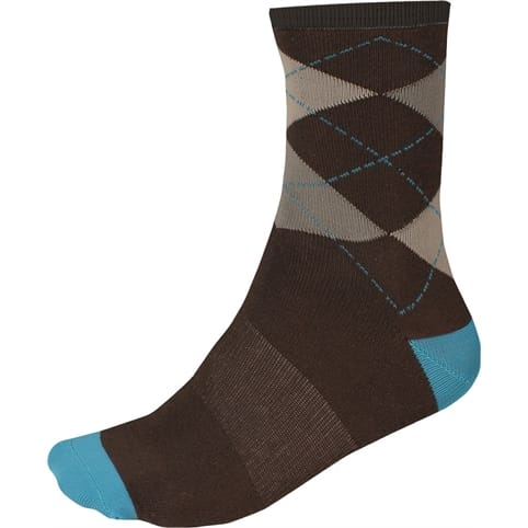 Endura Argyll Sock [TWIN PACK]