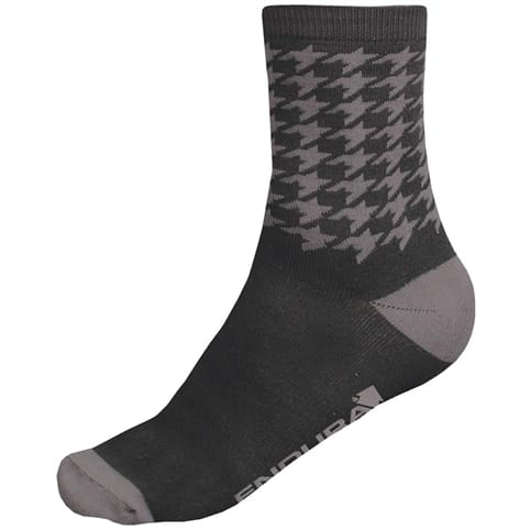 Endura Houndstooth Socks - Twinpack