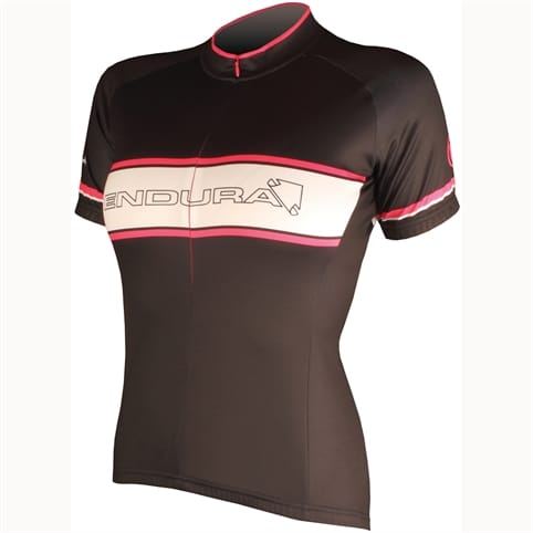 Endura Retro Printed Womens Short Sleeved Jersey
