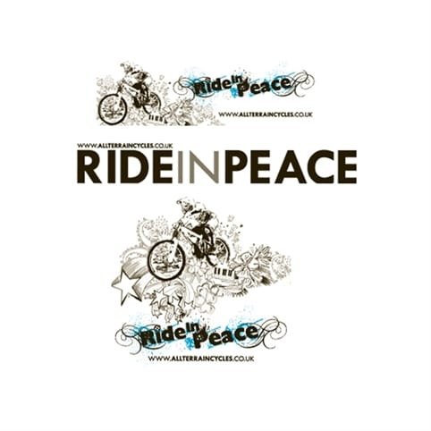 ATC Ride in Peace Sticker Sets
