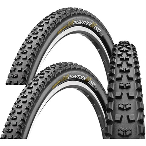 Continental Mountain King Tyre - Folding