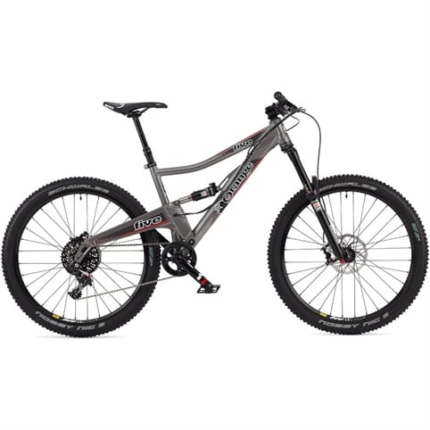 "Orange 2014 Five RS 27.5"" Full Suspension MTB Bike"