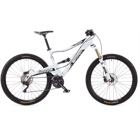 Orange 2014 Five 29 Pro Full Suspension MTB Bike