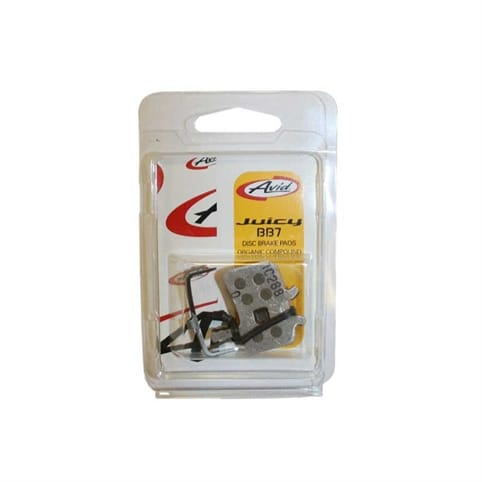 Avid Juicy/BB7 Disc Brake Pads Organic w/ Aluminium Back Plate