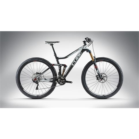 Cube 2014 Stereo 140 Super HPC Race 29 MTB Bike