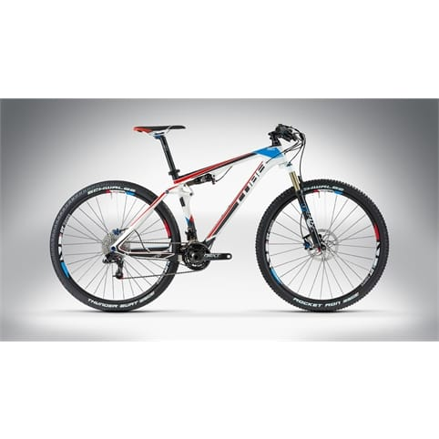 Cube 2014 AMS 100 Super HPC SL 29 MTB Bike