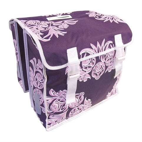 Basil Blossom Double Pannier Bag