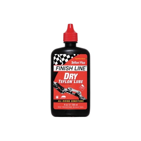 FINISH LINE TEFLON PLUS DRY CHAIN LUBE - 4 OZ