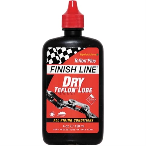 Finish Line Teflon Plus Dry Chain Lube - 4oz