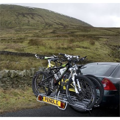 Pendle Tilting Bike 3 Bike Rack (Behind Ball)