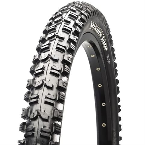 "Maxxis Minion DHR Rear Wire Tyre - Single Ply (26 x 2.50"" 60a)"