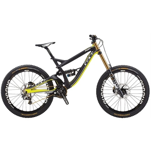 GT 2014 Fury World Cup Full Suspension MTB Bike