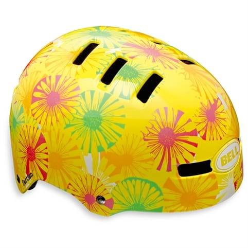 Bell Faction Helmet - Yellow Flowers