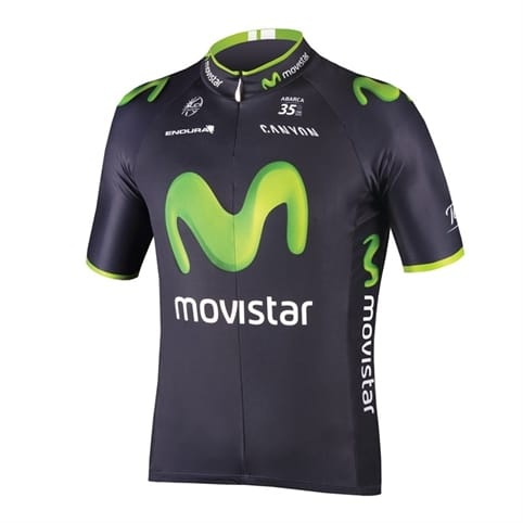 Endura Movistar Replica Short Sleeve Jersey