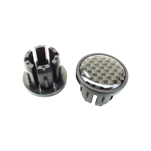 Bike Ribbon Carbon End Plugs