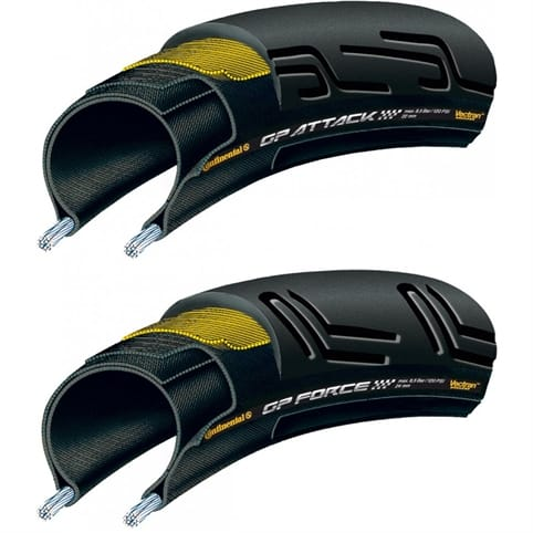Continental Grand Prix Attack / Force II Road Tyres